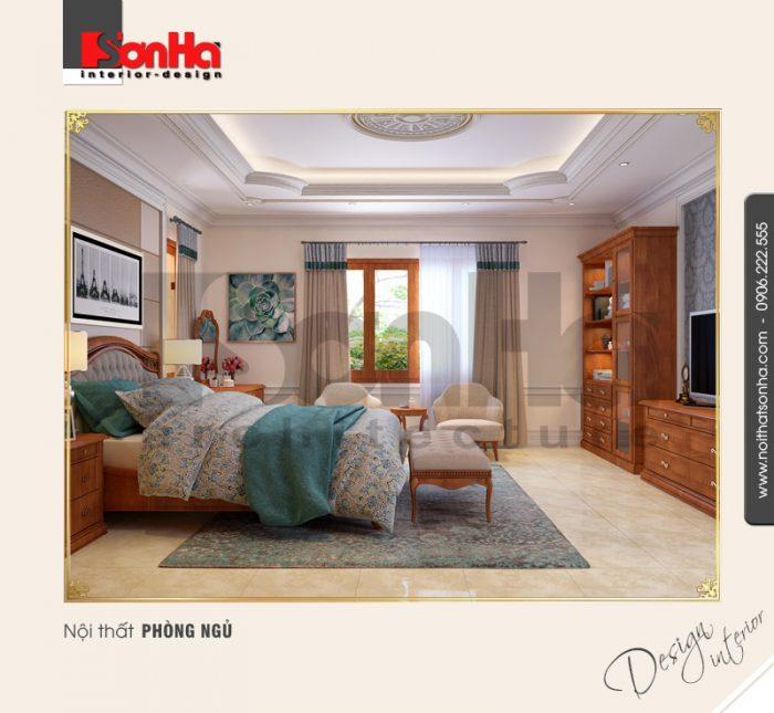 Mẫu nội thất phòng ngủ cổ điển tại quảng bình NT BTP 0099
