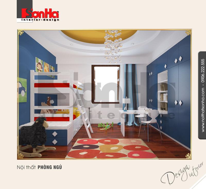 9.Thiết kế nội thất phòng ngủ cổ điển biệt thự pháp tại hải phòng NT BTP 0003