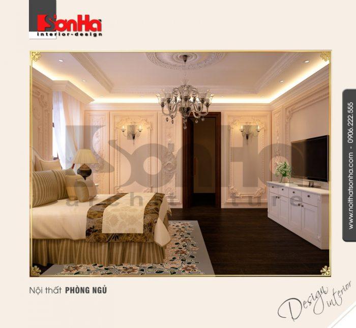9.Thiết kế nội thất phòng ngủ cổ điển tại hải phòng NT BTP 0005