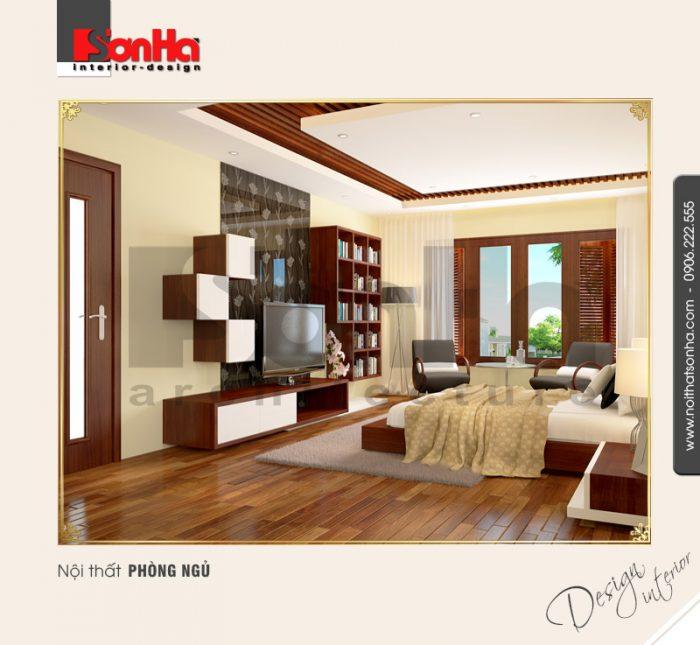 Thiết kế nội thất phòng ngủ cổ điển tại quảng bình NT BTD 0008