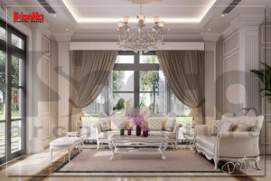 BÌA Thiết kế nội thất biệt thự Pháp tại khu đô thị Vinhome Imperia Hải Phòng