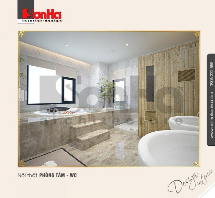 10.Mẫu nội thất phòng tắm wc tiện nghi tại quảng ninh NT BTD 0034