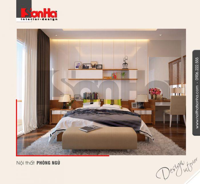 11.Thiết kế nội thất phòng ngủ hiện đại tại hải phòng NT NOD 0100