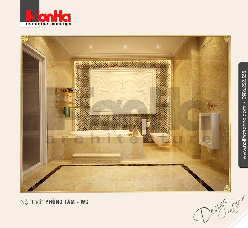 11.Thiết kế nội thất phòng tắm wc cổ điển tai tại hải phòng NT BTD 0027