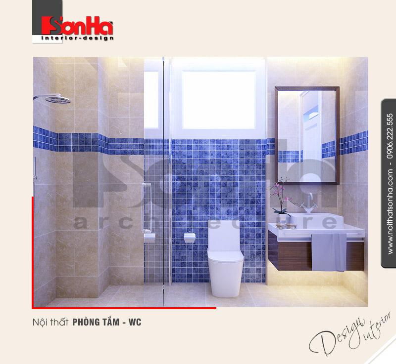 11.Thiết kế nội thất phòng tắm wc hiện đại tại quảng ninh NT NOD 0114