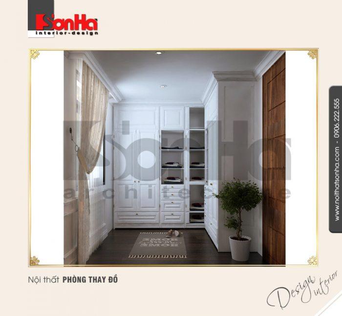 11.Thiết kế nội thất phòng thay đồ cổ điển tại vinhomes hải phòng