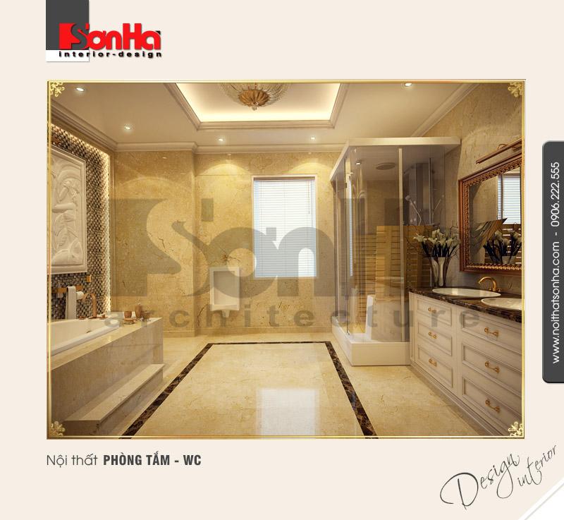 12.Mẫu nội thất phòng tắm wc cổ điển tại hải phòng NT BTD 0027