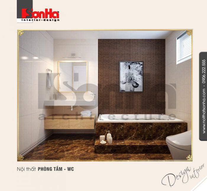 12.Mẫu nội thất phòng tắm wc cổ điển tại nha trang NT BTD 0023