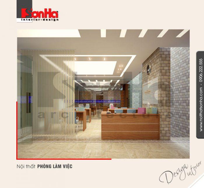 13.Thiết kế nội thất phòng làm việc hiện đại tại hà nội NT NOD 0091