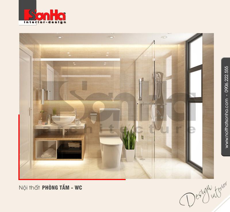 13.Thiết kế nội thất phòng tắm wc hiện đại tại nam định NT BTD 0029