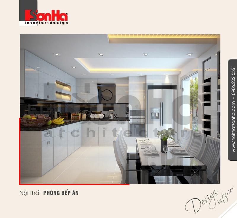 2.Mẫu nội thất phòng bếp ăn hiện đại tại hải phòng NT NOD 0077