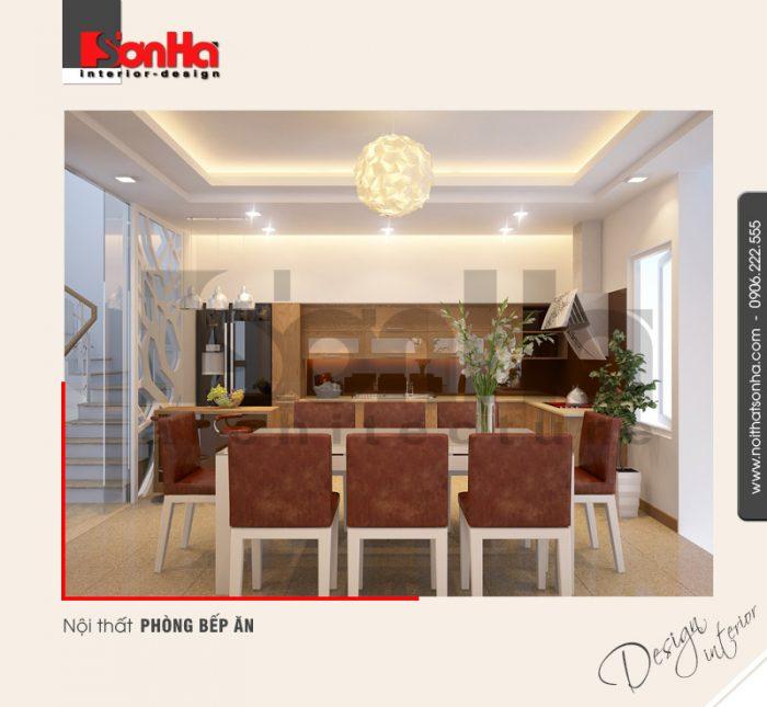3.Thiết kế nội thất phòng bếp ăn hiện đại tại hải phòng NT NOD 0030