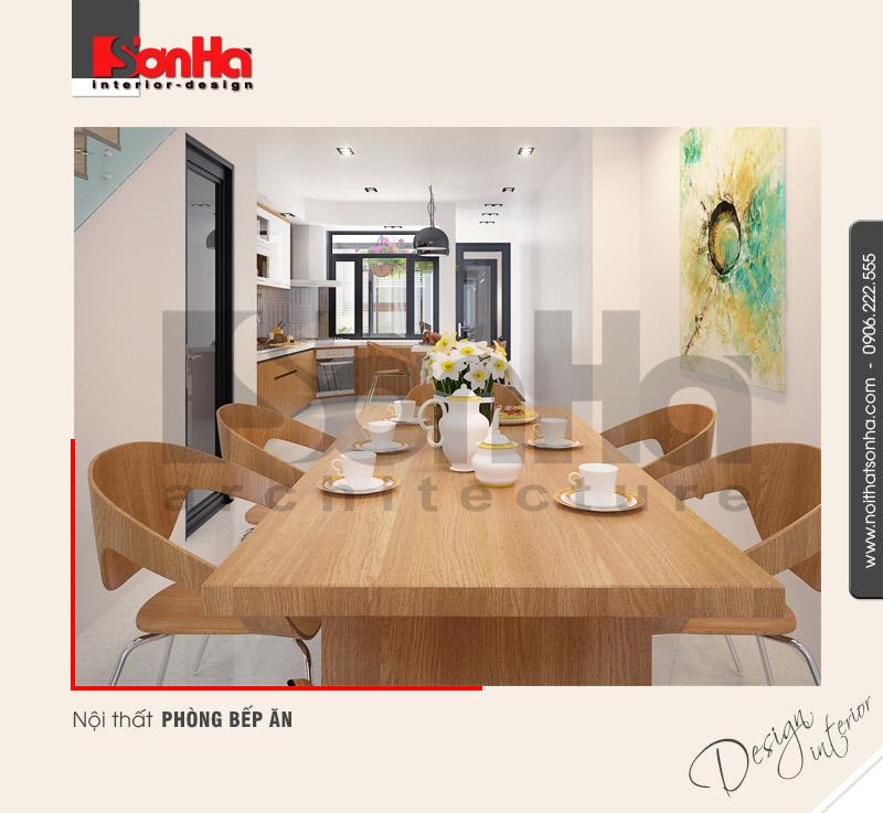 3.Thiết kế nội thất phòng bếp ăn hiện đại tại hải phòng NT NOD 0050