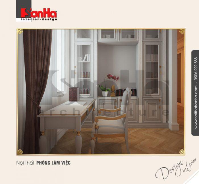 3.Thiết kế nội thất phòng làm việc NT BTD 0027