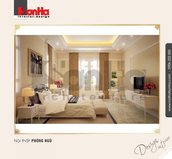 3.Thiết kế nội thất phòng ngủ cổ điển tại nha trang NT BTD 0023