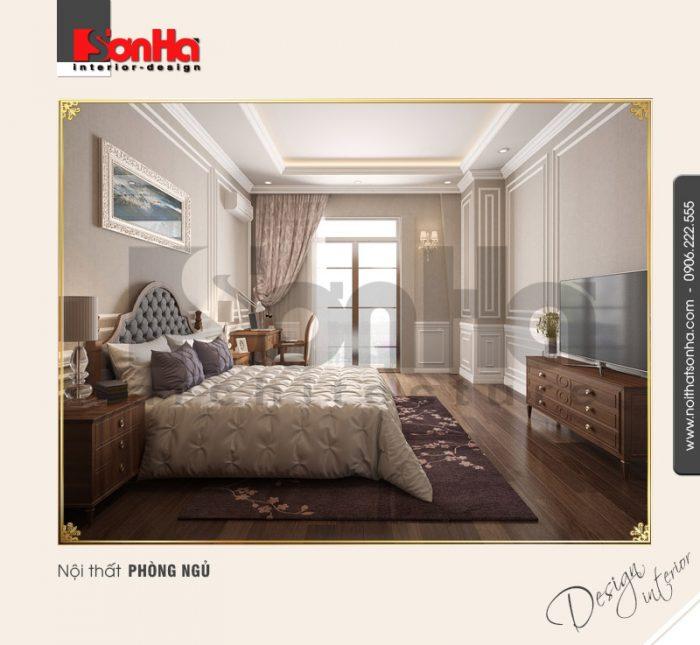 3.Thiết kế nội thất phòng ngủ cổ điển tại vinhomes hải phòng