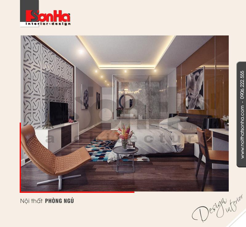 3.Thiết kế nội thất phòng ngủ hiện đại tại hải dương NT NOD 0101