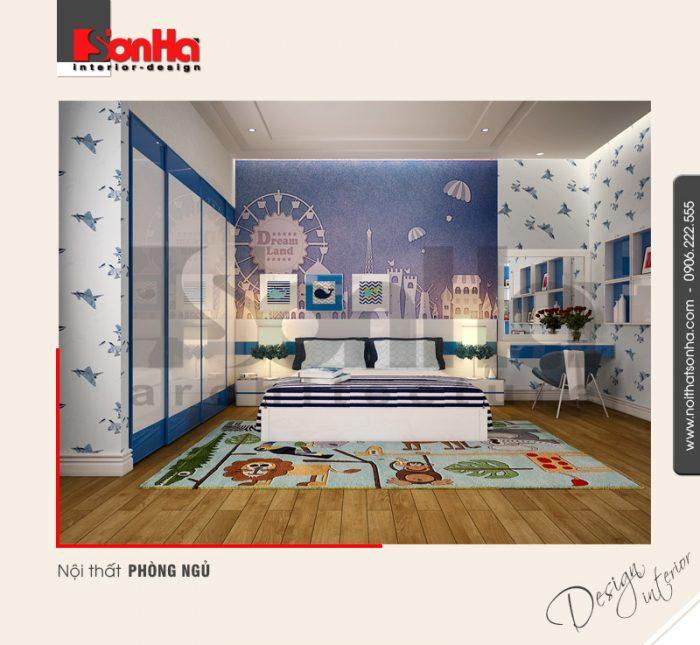 3.Thiết kế nội thất phòng ngủ hiện đại tại quảng ninh NT NOD 0114