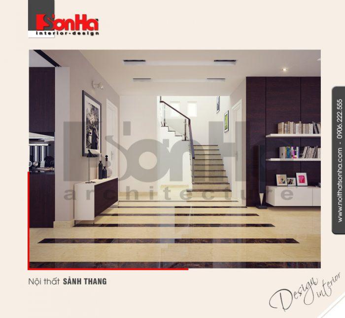 3.Thiết kế nội thất sảnh thang hiện đại tại hải phòng NT BTP 0007