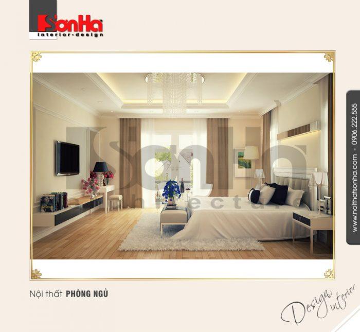 4.Mẫu nội thất phòng ngủ cổ điển tại nha trang NT BTD 0023