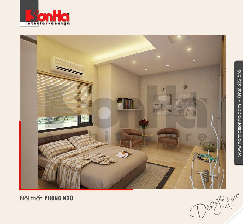 4.Mẫu nội thất phòng ngủ hiện đại tại nam định NT BTD 0029