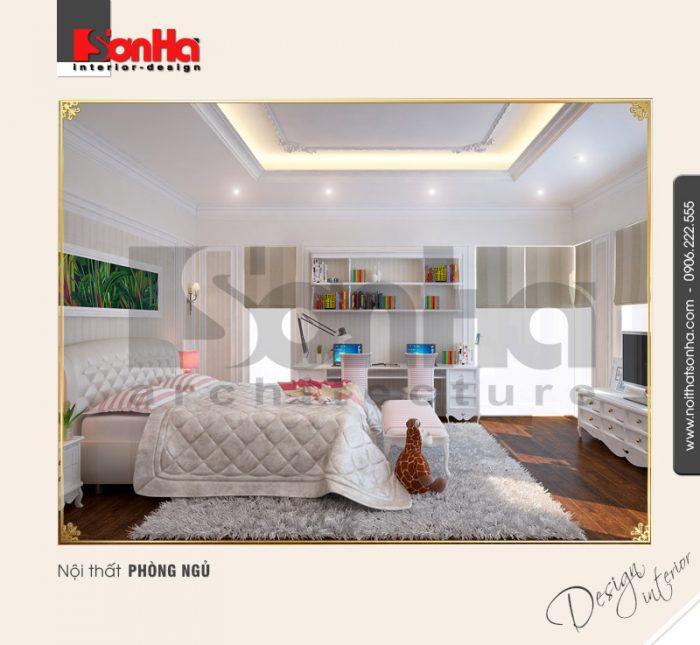 5.Thiết kế nội thất phòng ngủ cổ điển tại hải phòng NT BTD 0027
