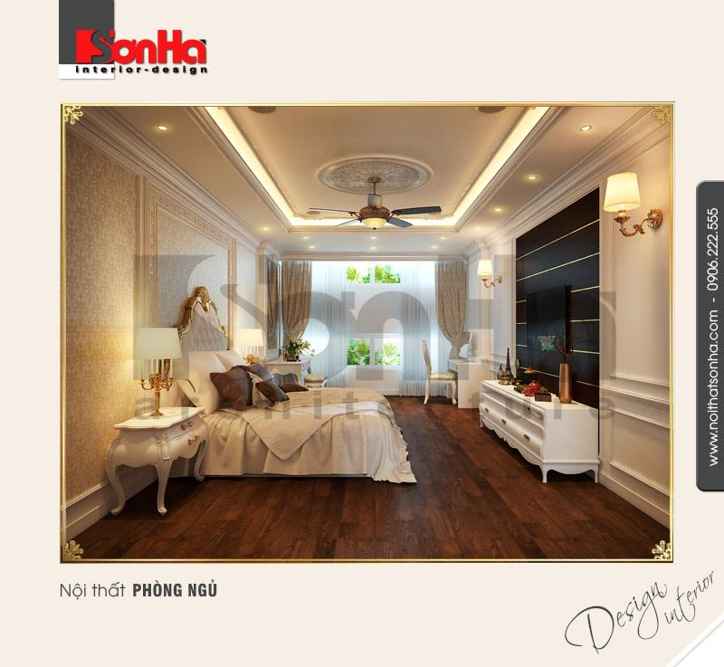 5.Thiết kế nội thất phòng ngủ cổ điển tại hải phòng NT NOD 0081
