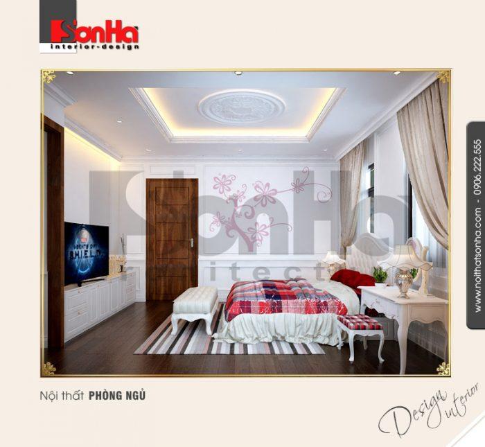 5.Thiết kế nội thất phòng ngủ cổ điển tại vinhomes hải phòng