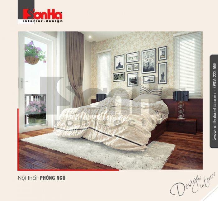 5.Thiết kế nội thất phòng ngủ dành cho biệt thự hiện đại tại quảng ninh NT BTD 0019