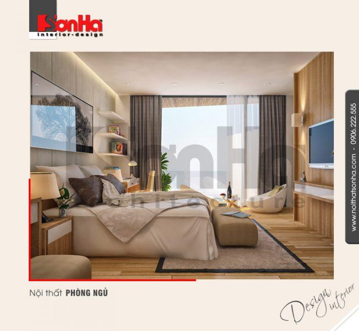 5.Thiết kế nội thất phòng ngủ hiện đại tại nam định NT BTD 0029