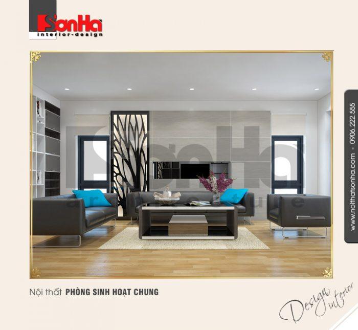 5.Thiết kế nội thất phòng sinh hoạt chung tại quảng ninh NT BTD 0034
