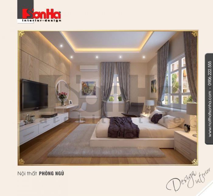 6.Mẫu nội thất phòng ngủ cổ điển tại nha trang NT BTD 0023