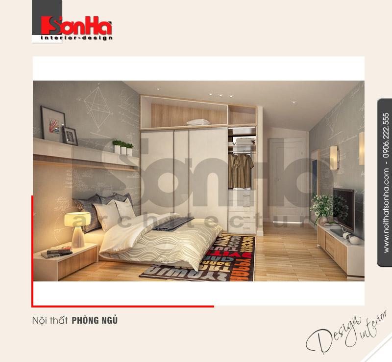 6.Mẫu nội thất phòng ngủ hiện đại tại nam định NT BTD 0029