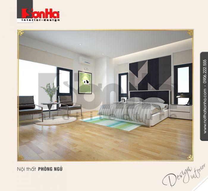 6.Mẫu nội thất phòng ngủ tiện nghi tại quảng ninh NT BTD 0034