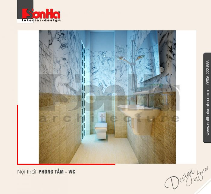 6.Mẫu nội thất phòng tắm wc hiện đại hải phòng NT NOD 0074