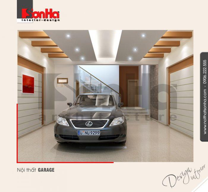 7.Thiết kế nội thất garage hiện đại tại hải phòng NT NOD 0030