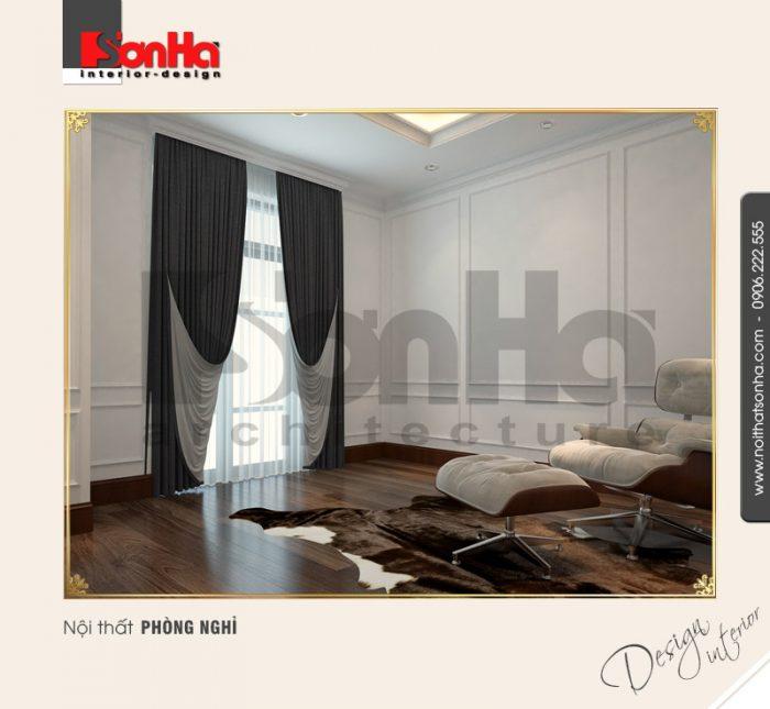 7.Thiết kế nội thất phòng nghỉ tân cổ điển tại vinhomes imperia hải phòng