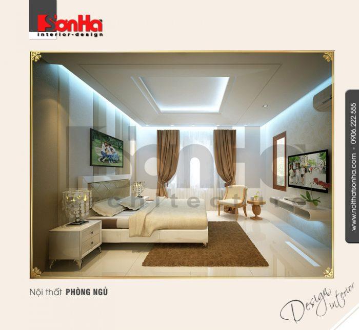 7.Thiết kế nội thất phòng ngủ đẹp cho biệt thự tại hải dương NT BTD 0009