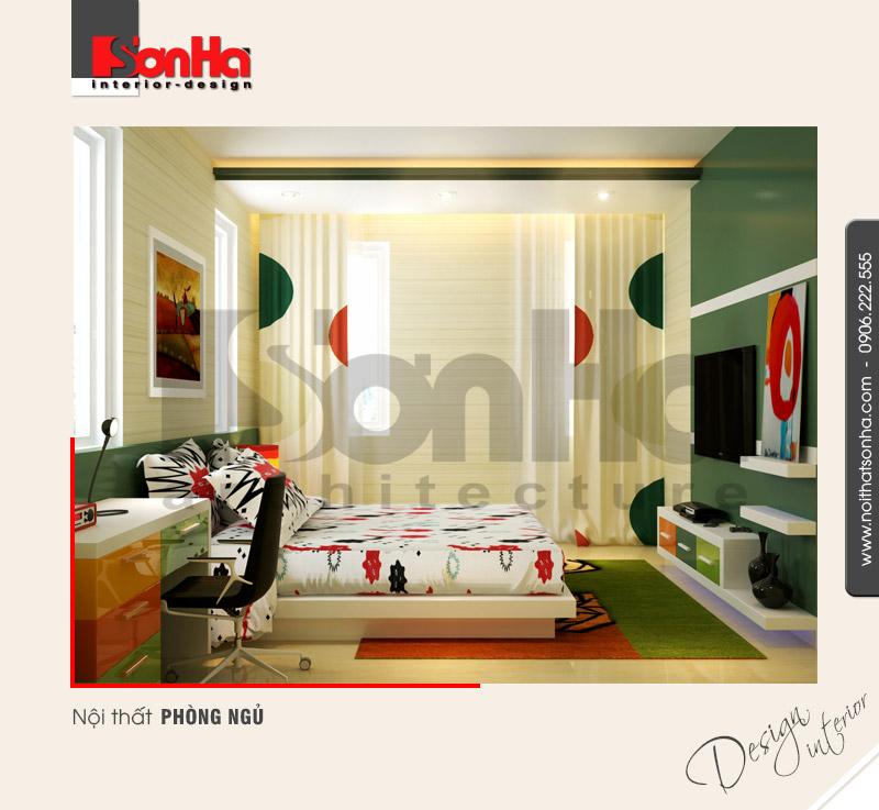 7.Thiết kế nội thất phòng ngủ hiện đại tại hải phòng NT BTD 0007