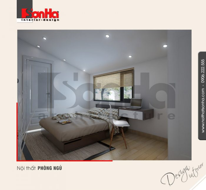 7.Thiết kế nội thất phòng ngủ hiện đại tại nam định NT BTD 0029