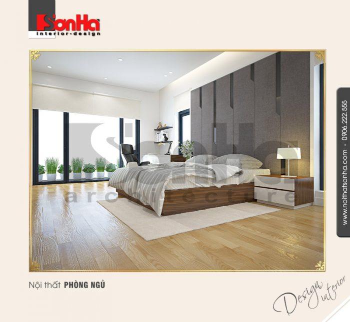 7.Thiết kế nội thất phòng ngủ hiện đại tại quảng ninh NT BTD 0034