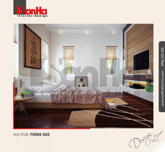 9.Thiết kế nội thất phòng ngủ hiện đại tại hải phòng NT BTD 0007