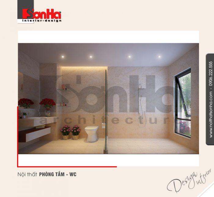 9.Thiết kế nội thất phòng tắm wc hiện đại tại hải phòng NT NOD 0115