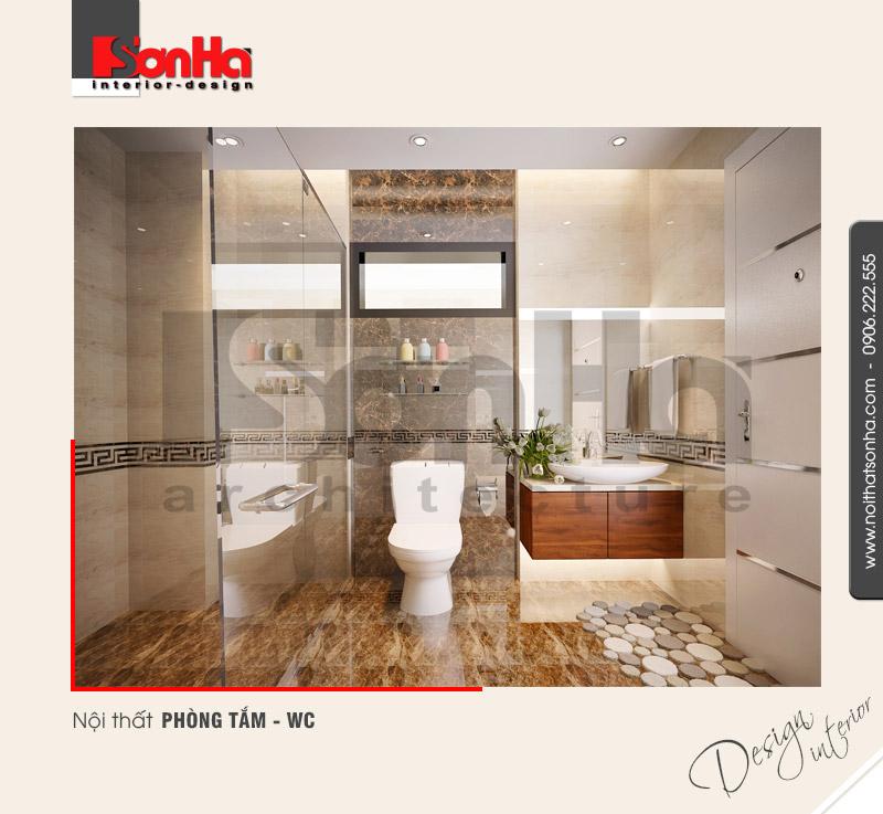 9.Thiết kế nội thất phòng tắm wc hiện đại tại quảng ninh NT NOD 0114