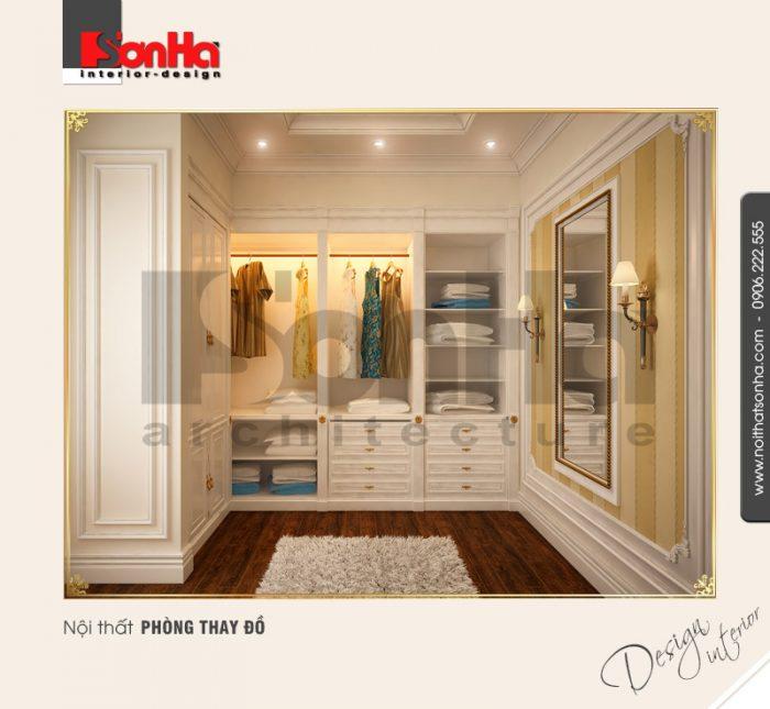 9.Thiết kế nội thất phòng thay đồ cổ điển tại hải phòng NT BTD 0027