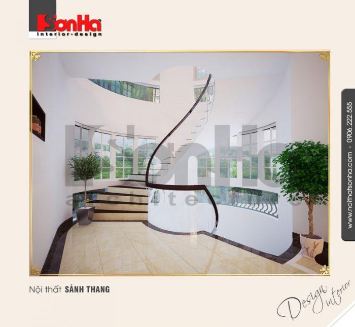 9.Thiết kế nội thất sảnh thang cổ điển tại nha trang NT BTD 0023