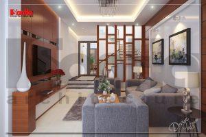 BIA Mẫu nội thất nhà phố hiện đại 4 tầng tại hải phòng NT NOD 0089