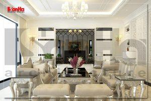 BIA Thiết kế nội thất biệt thự đẹp cao cấp tại quảng ninh NT BTD 0034