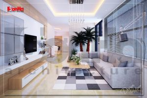 BIA Thiết kế nội thất biệt thự hiện đại đẹp tại nam định NT BTD 0029