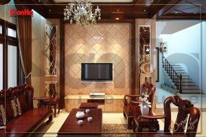 BIA Thiết kế nội thất biệt thự tại Hải Dương đẹp đến khó quên NT BTD 0009